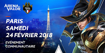 Arena of valor communaute fr irl paris