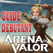 Arena of valor guide debutant logo