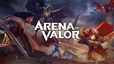 Arena of valor jeu mobile intro