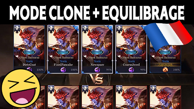 Arena of valor mise a jour mode clone blog