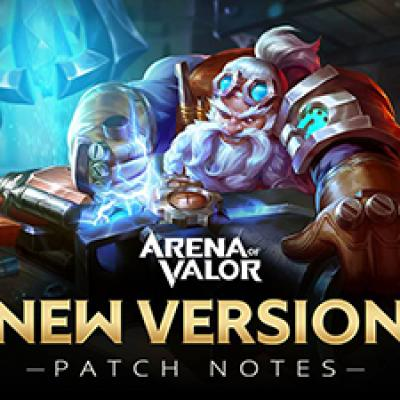 Arena of valor new version patch notes