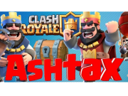 Ashtax image illustration youtubeur clash royale