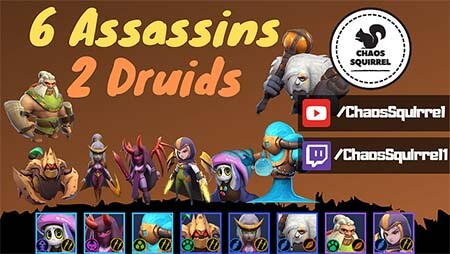 Auto chess blog build 6 assassins 2 druides