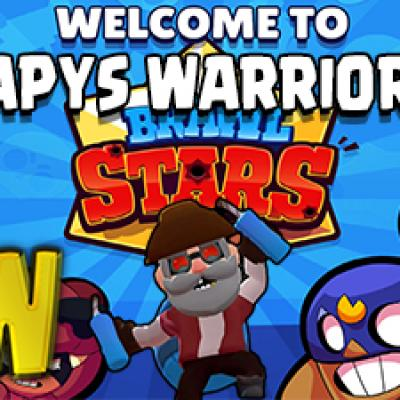 Bande papys warriors recrute brawl stars