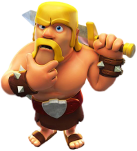 Barbare indecis clash of clans