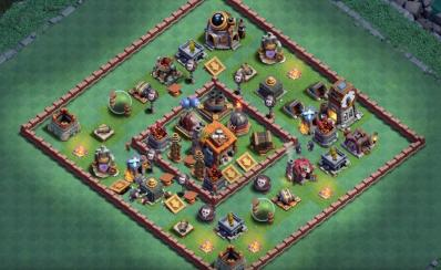 Base mdo7 mise a jour clash of clans