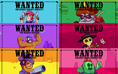 Bientot la fin wanted brawl stars blog