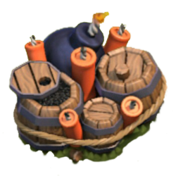 Bombe geante clash of clans