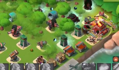 Boom beach electrobombe qg compo full guerrier