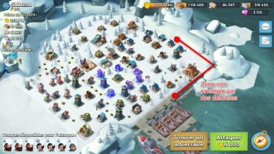 Boom beach qg facile compo full guerrier