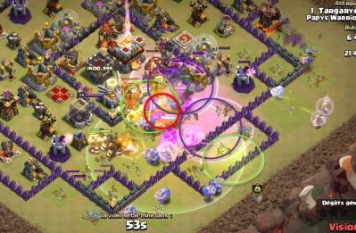 Bouliste fee placement sort compo gdc hdv 11 clash of clans
