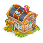 Boutique de souvenirs ville hay day