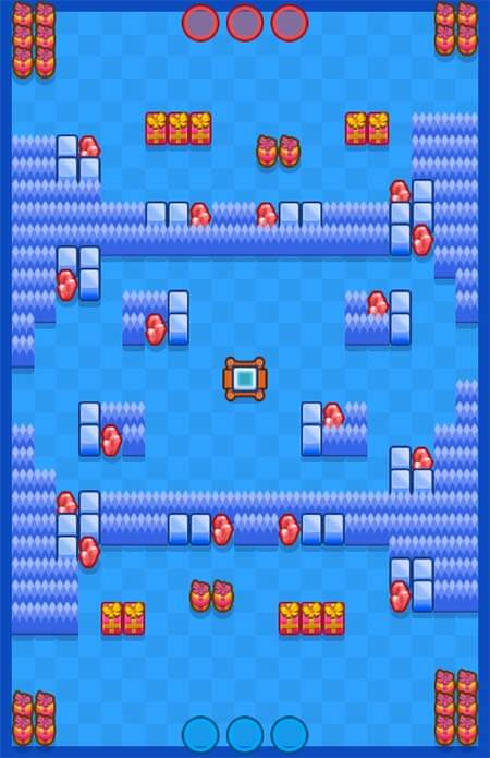Brawl stars carte rocher glace