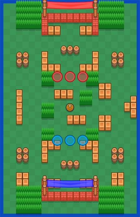 Brawl stars carte triple dribble