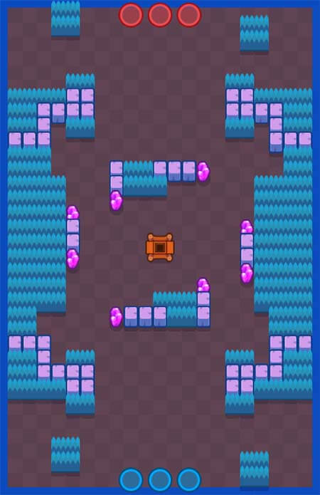Brawl stars carte tunnel de mine