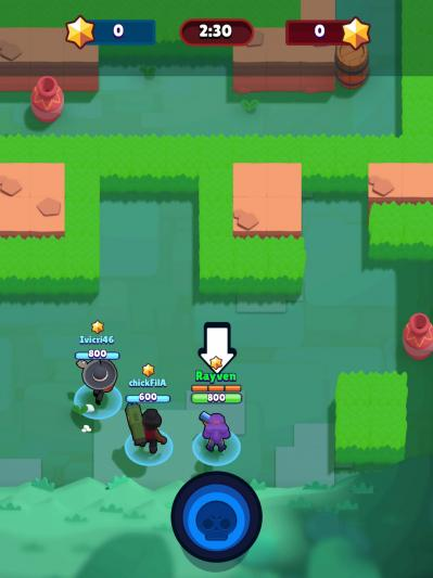 Brawl stars gameplay bounty camp de la mort