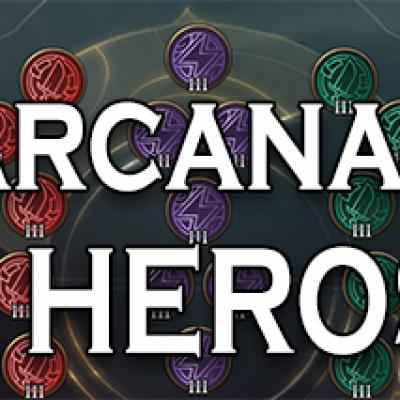 Build arcanas 12 heros arena of valor