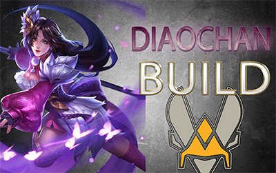 Build diaochan vitality arena of valor