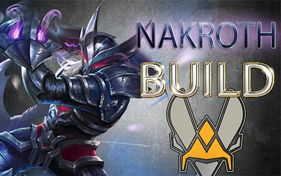 Build nakroth vitality arena of valor