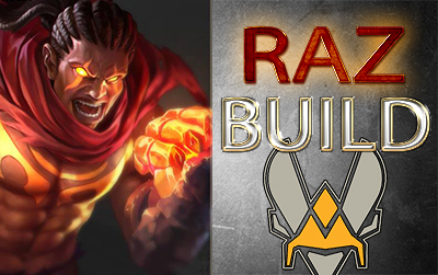 Build raz vitality arena of valor