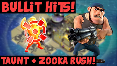 Bullit zookas strategie attaque boom beach