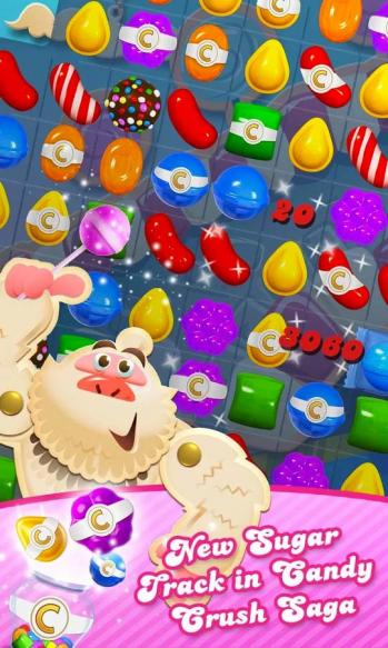 Candy crush saga new sugar