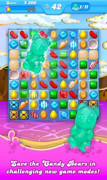 Candy crush soda saga save candy bear