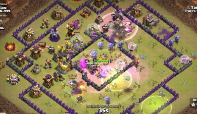 Carnage bouliste fee compo gdc hdv 11 clash of clans
