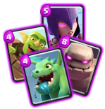 Cartes epiques clash royale papys warriors