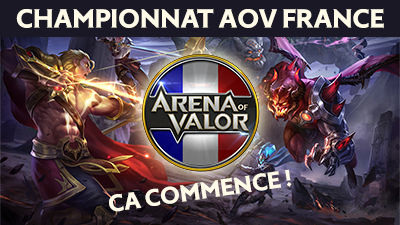 Championnat aov france s1 j1 blog