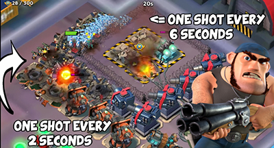 Changement secret mecanique maj bullit boom beach