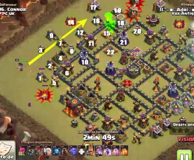 Secrets de l'AQH des TOP PLAYERS Clash of Clans ! Chemin-aqh-clash-of-clans