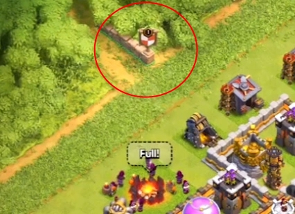 Chemin village principal clash of clans
