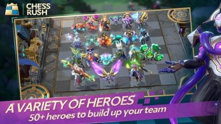 Chess rush 50 heros
