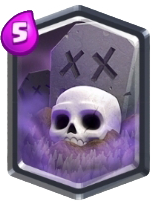 Cimetiere carte legendaire clash royale