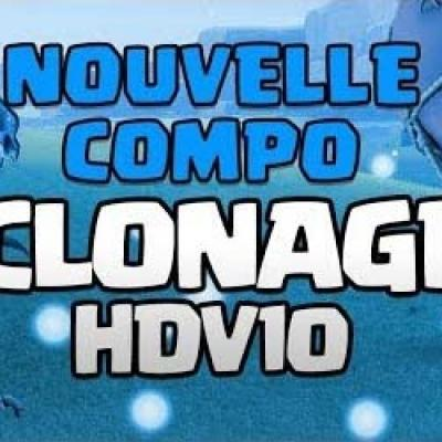 Clash of clans compo clonage hdv10