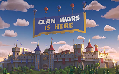 Clash royale clan wars is here