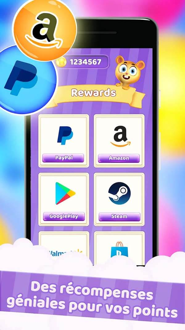 android application gagner de largent