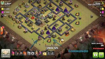 Commando gowiva clash of clans tuto