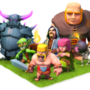Composition de troupes clash of clans