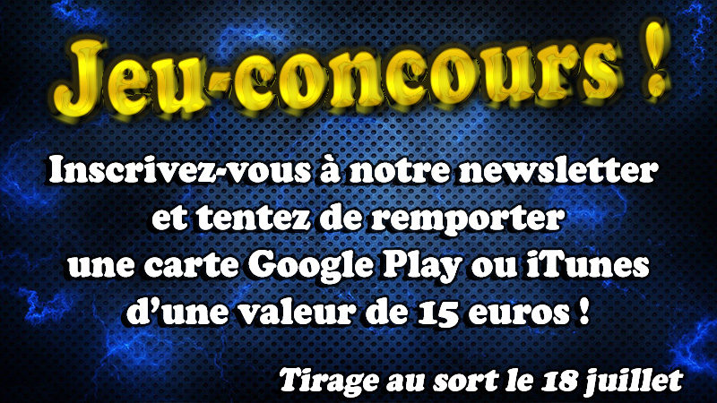 Concours newsletter papys warriors