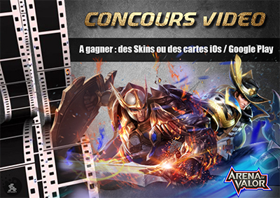 Concours video arena of valor fr