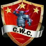 Cwc clash of clans word championship logo