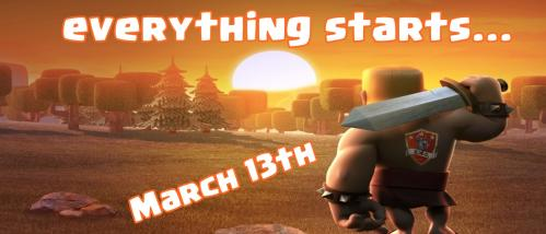 Debut tournoi cwc 13 mars clash of clans