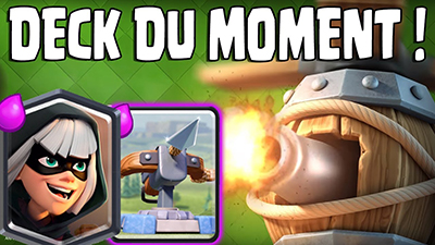 Deck clash royale machine volante arc x