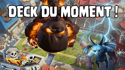 Deck de la semaine molosse clash royale blog