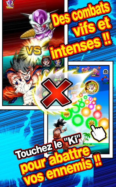 Dragon ball z dokkan battle combat ki