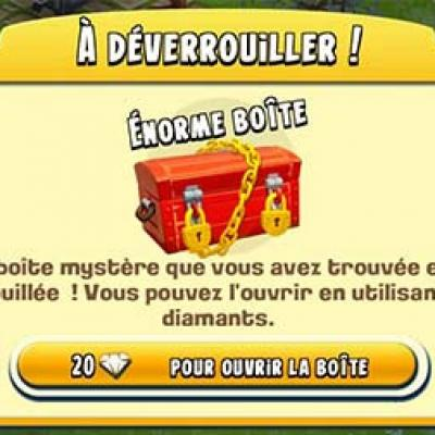 Enorme boite mystere hay day blog