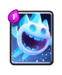 Esprit de glace carte commune clash royale