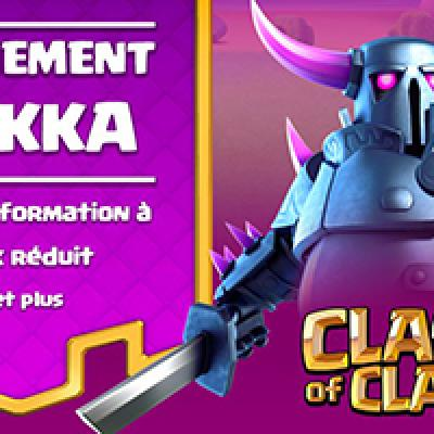 Evenement pekka clash of clans